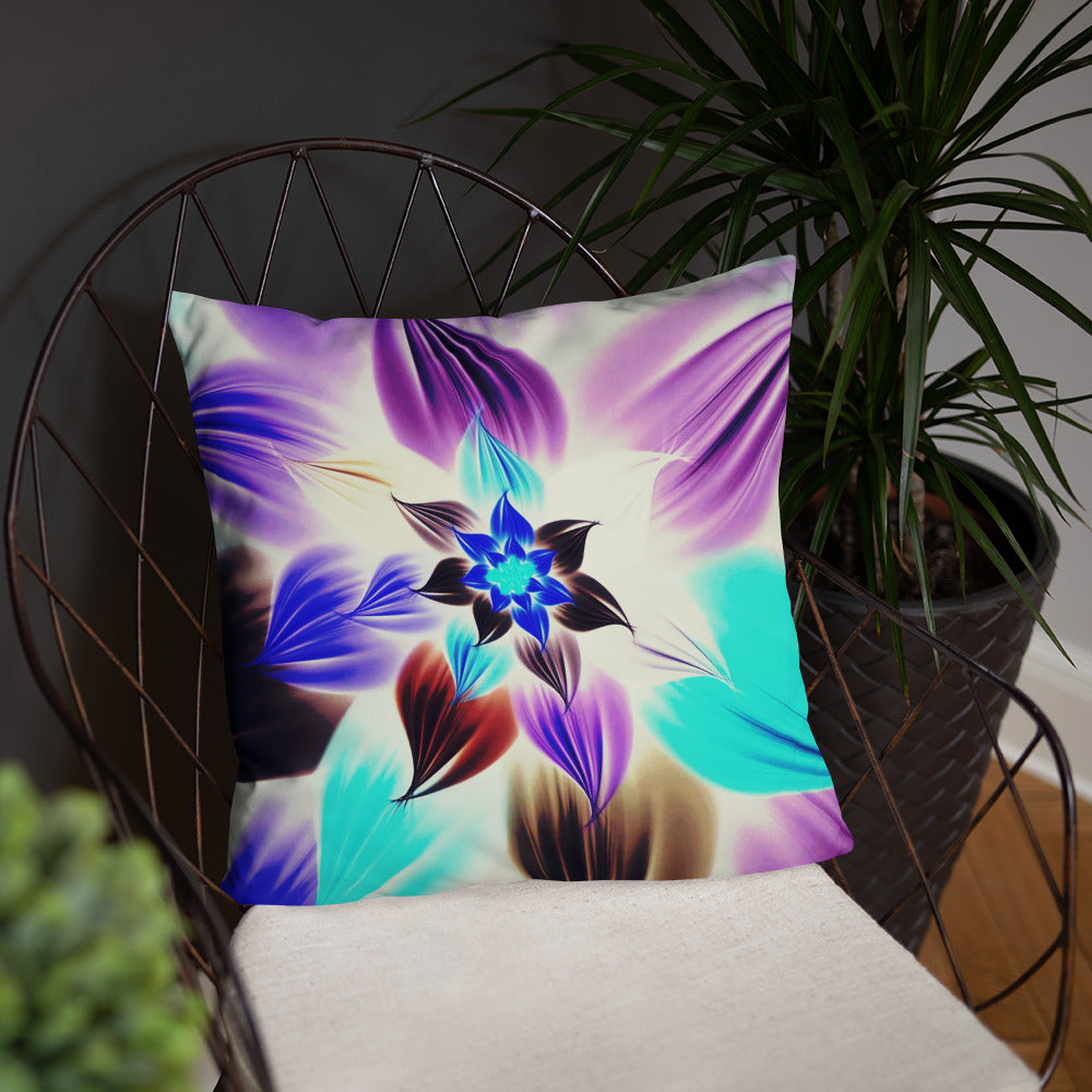 The colorful Linda Accent Pillow / Artist - Bryan Ameigh