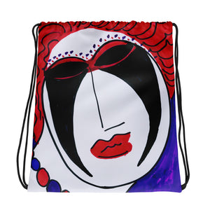Artistic Drawstring bag