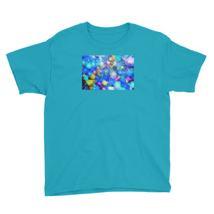 Colorful Glass print Youth Short Sleeve T-Shirt / Artist - Bryan Ameigh
