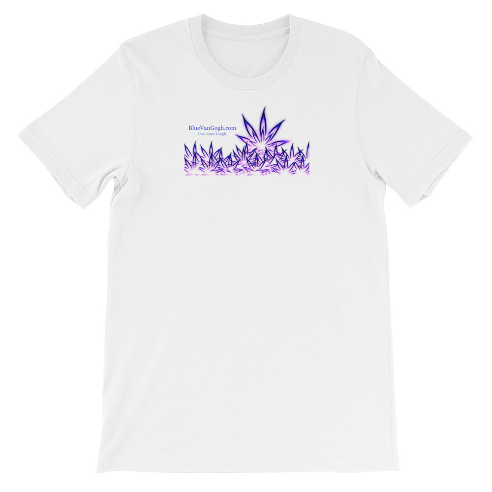 Purple MaryJane Short-Sleeve Unisex T-Shirt / Artist - Bryan Ameigh