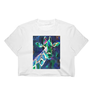 Women's Orginal Art Crop Top / Artist - Bryan Ameigh