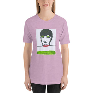 Short-Sleeve Unisex Artistic T-Shirt / Artist -Margot House