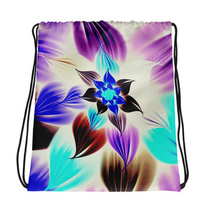 Electric Flower Drawstring bag / Artist - Bryan Ameigh