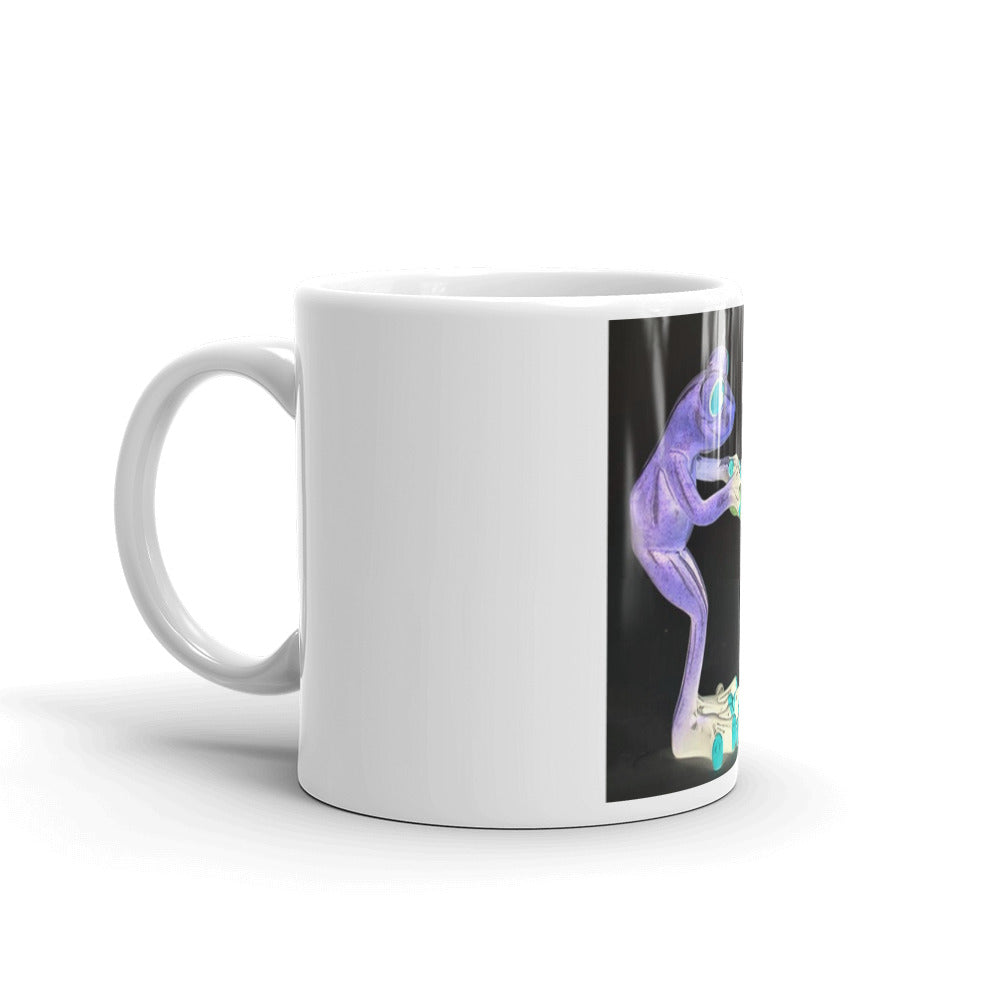 Frog Undies Mug / Created by Bryan Ameigh