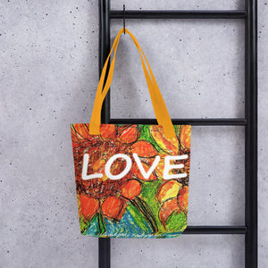 Sunflower with Love Tote bag / Artist - Margot House