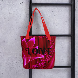 The Love Tote bag / Artist - Bryan Ameigh