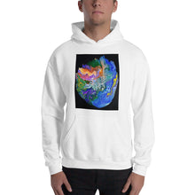 Load image into Gallery viewer, Artistic Hooded Sweatshirt / Art by Bryan Ameigh