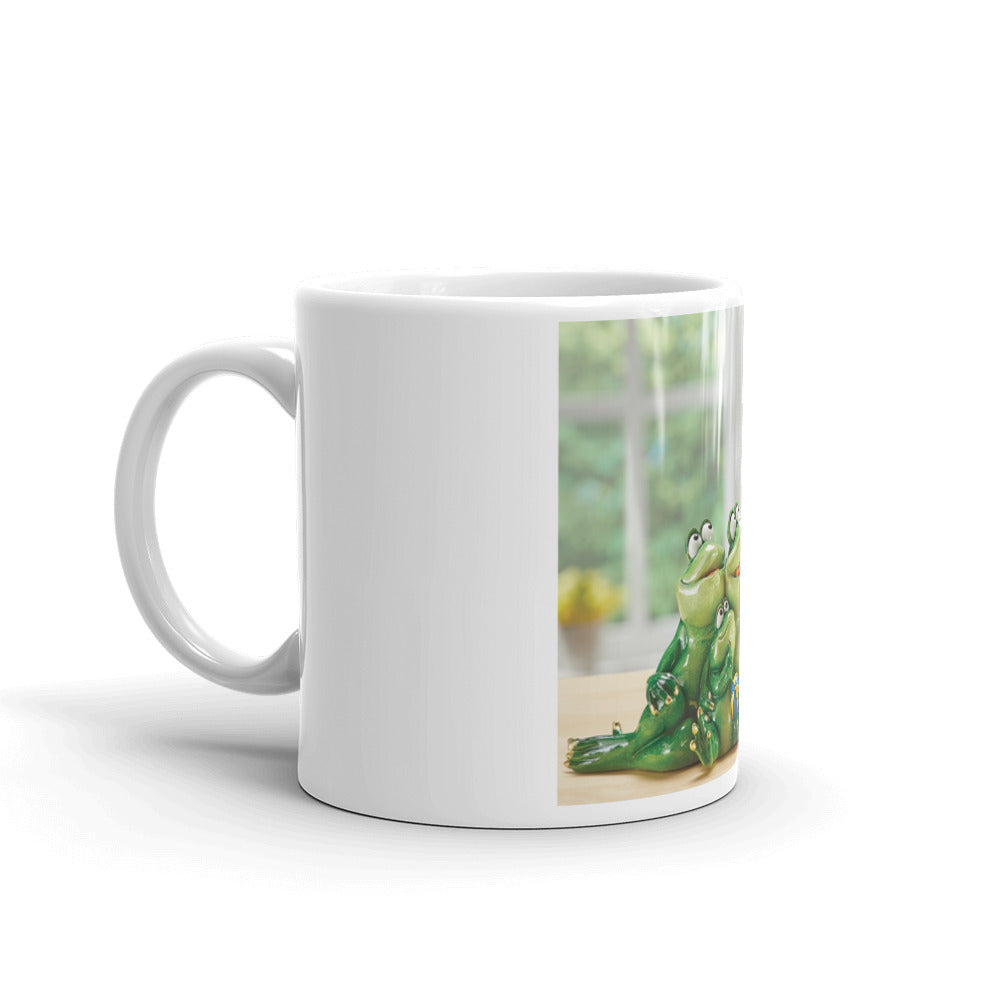 Froggy Family Selfie Mug / Created by Bryan Ameigh