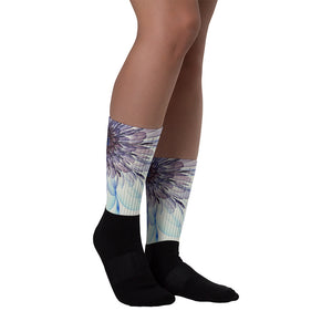 Electric Flower Socks / Artist - Bryan Ameigh