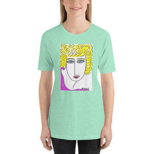 Short-Sleeve Unisex Artistic T-Shirt / Artist - Margot House