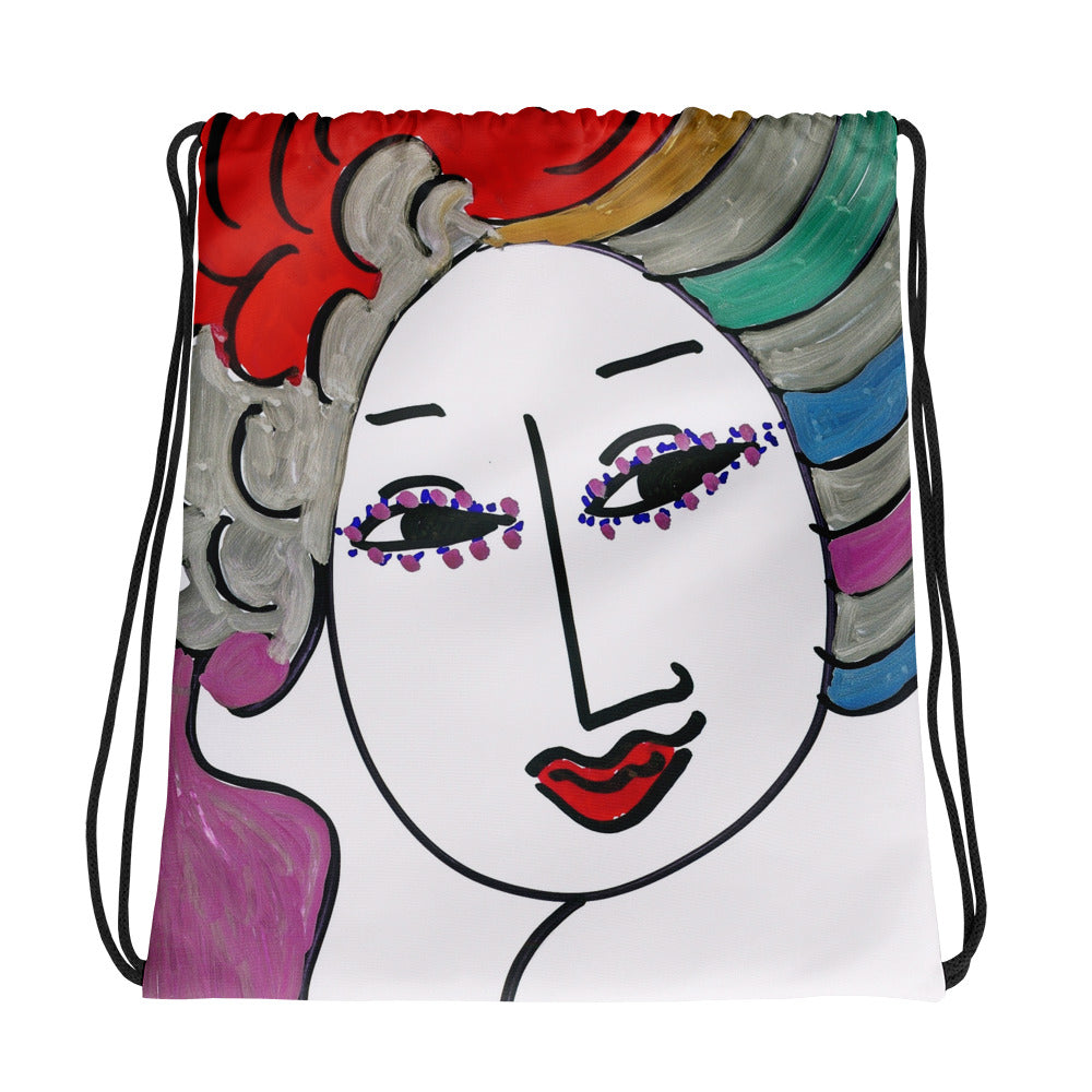 Artistic Drawstring bag / Artist - Margot House