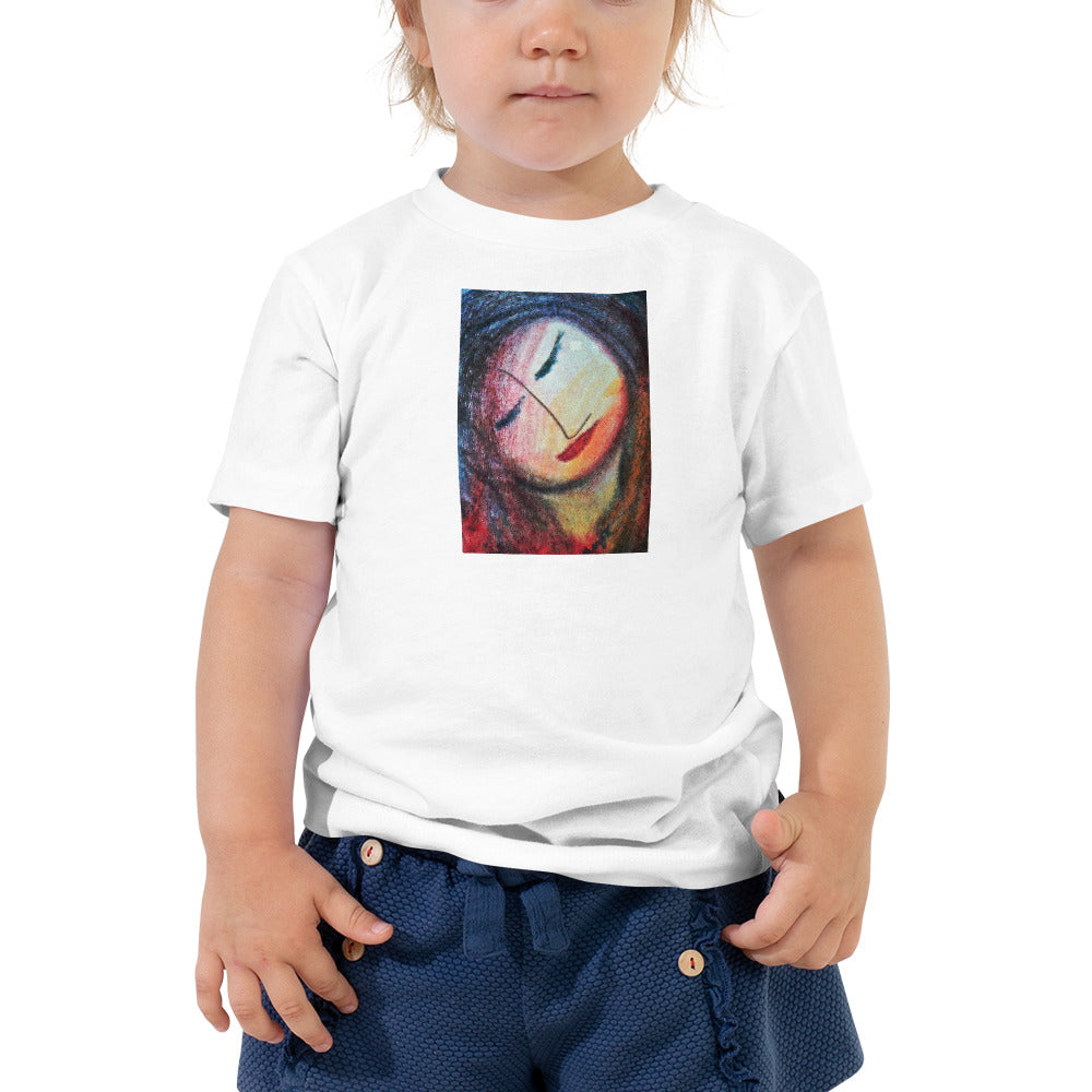 Toddler Short Sleeve Artistic Tee