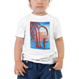 Toddler Short Sleeve Artisic Tee / Artist - Margot House