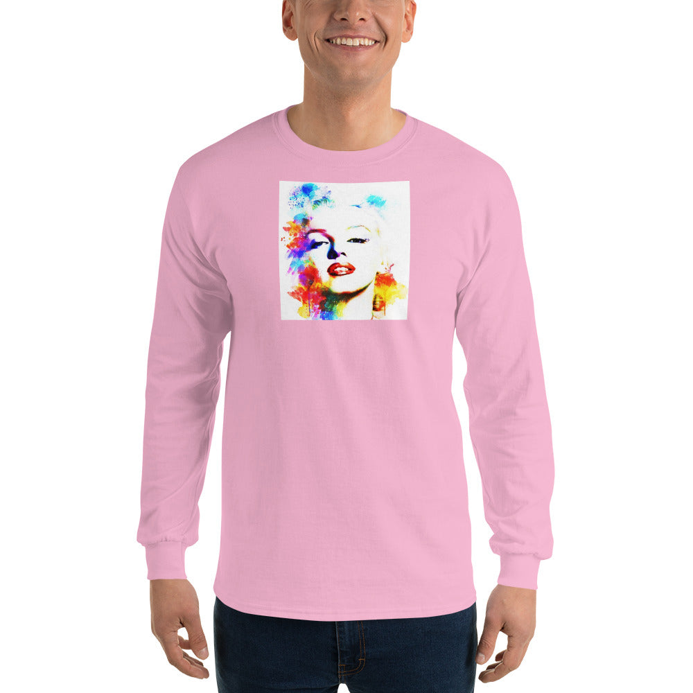 Color Me Marilyn Monroe Long Sleeve T-Shirt