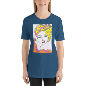 Short-Sleeve Unisex Artistic T-Shirt Artist - Margot House