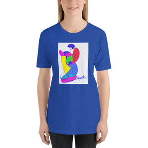 Short-Sleeve Unisex Artistic T-Shirt / Artist Margot House