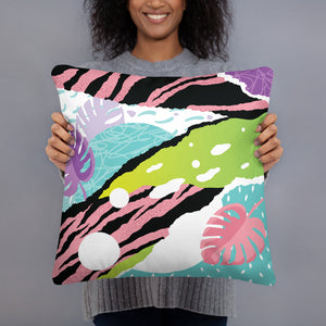 Pop Art Pink Pillow / Artist - Bryan Ameigh