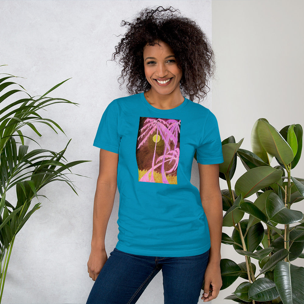 Bella + Canvas 3001 Unisex Short Sleeve Jersey T-Shirt with Tear Away Label