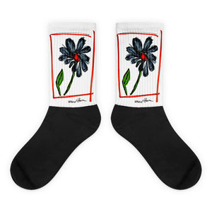 Flower Socks /Artist - Margot House