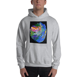 Artistic Hooded Sweatshirt / Art by Bryan Ameigh