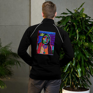 Piped Fleece Jacket / Artist - Bryan Ameigh