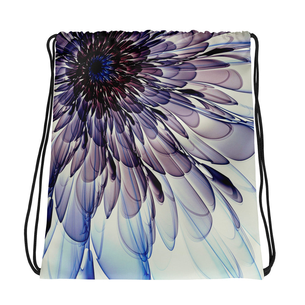 Electric Flower collection Drawstring bag /Artist - Bryan Ameigh