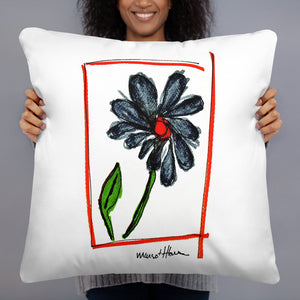 Flower Print Pillow / Artist - Margot House