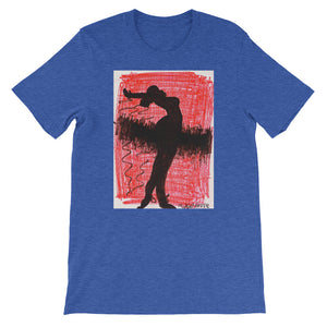 Short-Sleeve Unisex Artisic T-Shirt / Artist -Margot House
