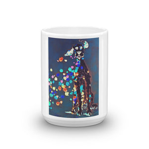 """Dog without color"" Mug / Artist - Bryan Ameigh"