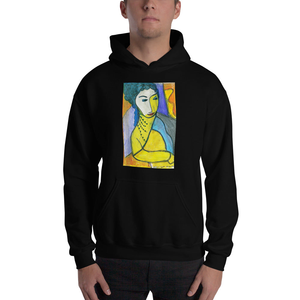Artistic Hooded Sweatshirt