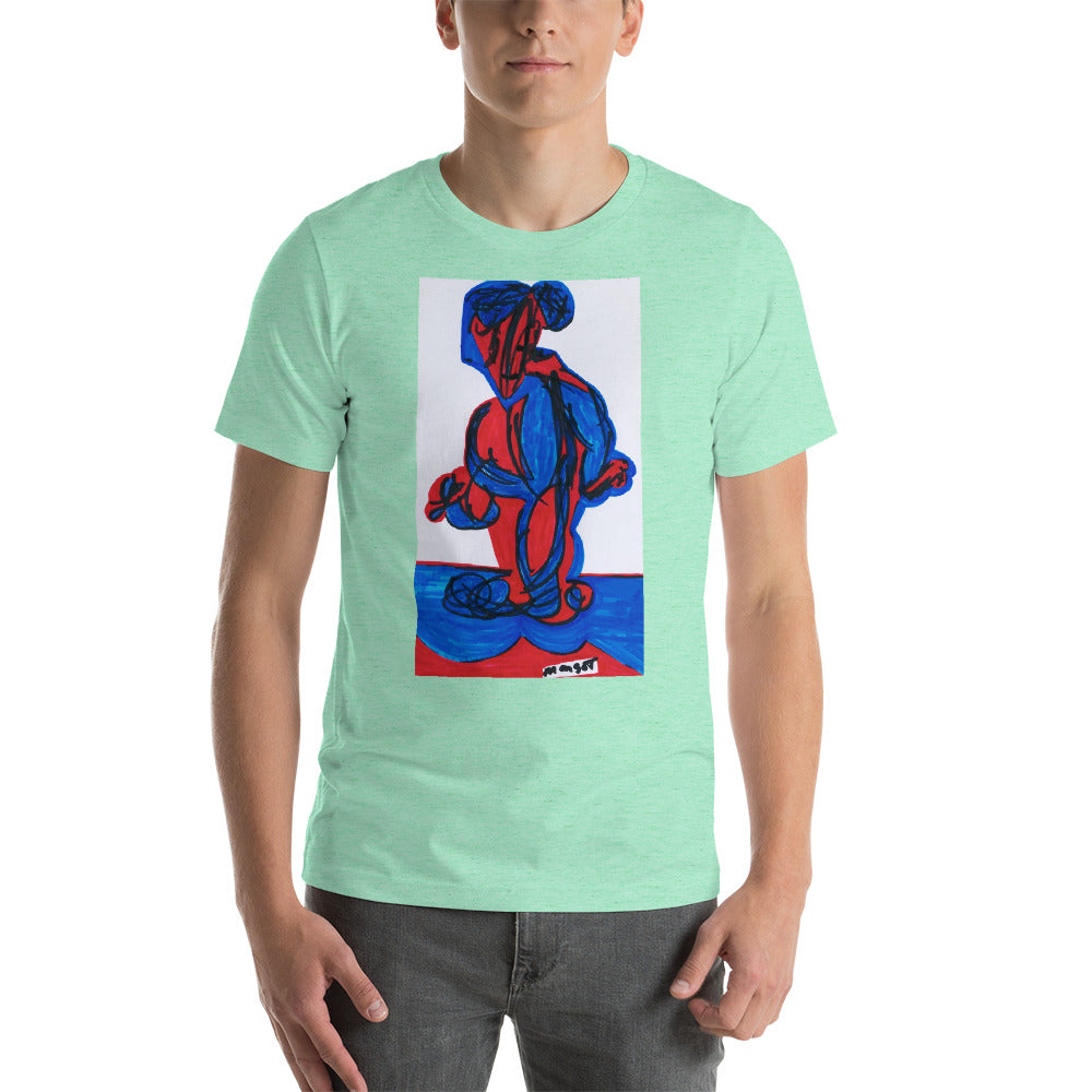 Short-Sleeve Unisex Artistic T-Shirt / Artist- Margot House