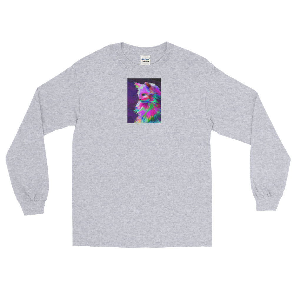 Color Kitty Long Sleeve T-Shirt
