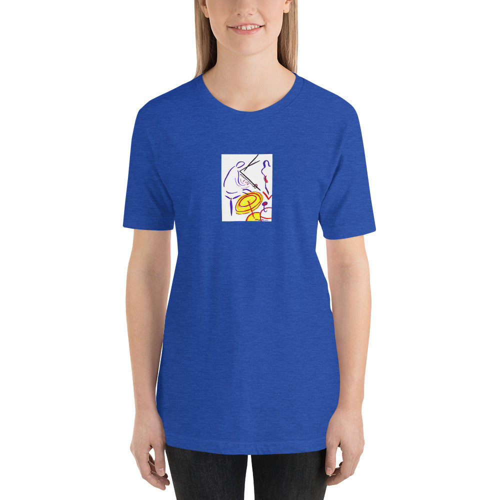 Short-Sleeve Unisex Artisitc T-Shirt / Artist - Margot House