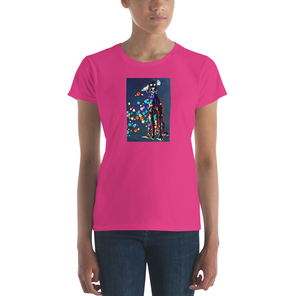 Women's short sleeve t-shirt / Artist - Bryan Ameigh