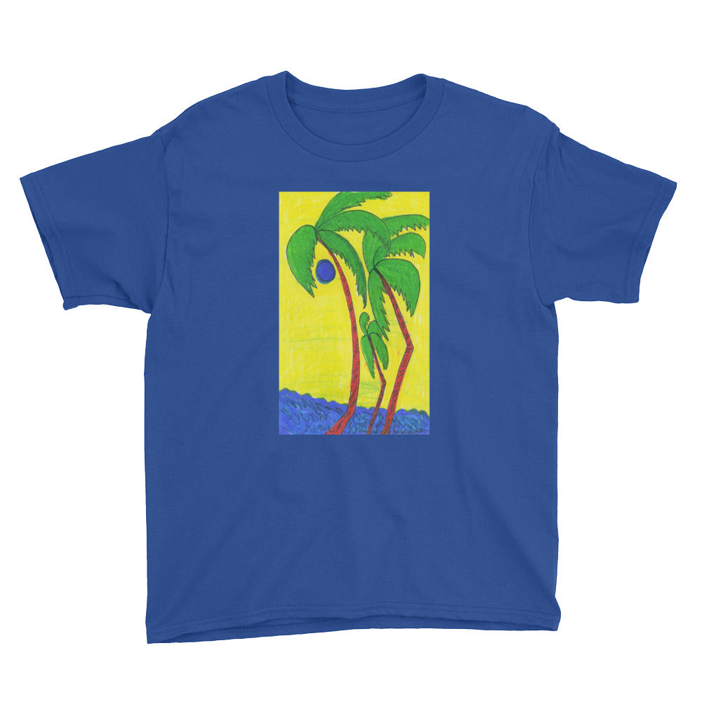 Youth Short Sleeve Artistic T-Shirt /Artist  -Margot House