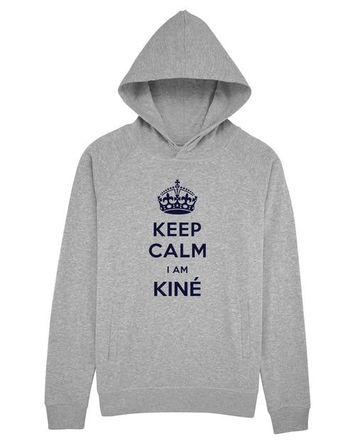Sweat capuche Keep calm - Comptoir des Kinés