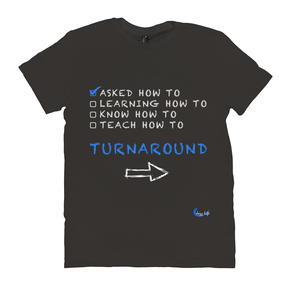 Fun Jazz Turnaround T-Shirt (Beginner) B Front & Back