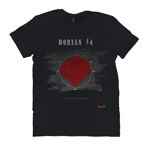 Cool Dorian #4 Scale T-Shirt