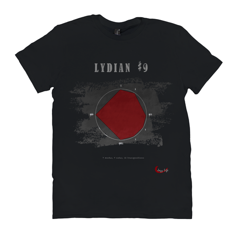 Cool Lydian #9 Scale T-Shirt