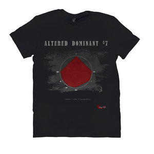Cool Altered Dominant Dim7 Scale T-Shirt