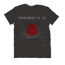 Load image into Gallery viewer, Cool Mixolydian b9 b13 Scale T-Shirt