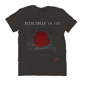 Cool Mixolydian b9 b13 Scale T-Shirt