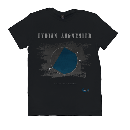 Cool Lydian Augmented Scale T-Shirt