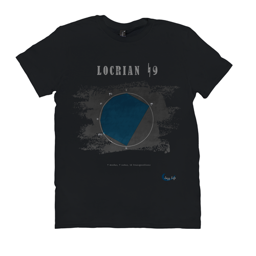 Cool Locrian Natural 9th Scale T-Shirt
