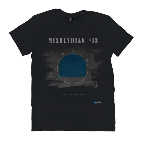 Cool Mixolydian b13 Scale T-Shirt