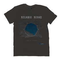 Load image into Gallery viewer, Cool Melodic Minor Scale T-ShirtT-Shirts