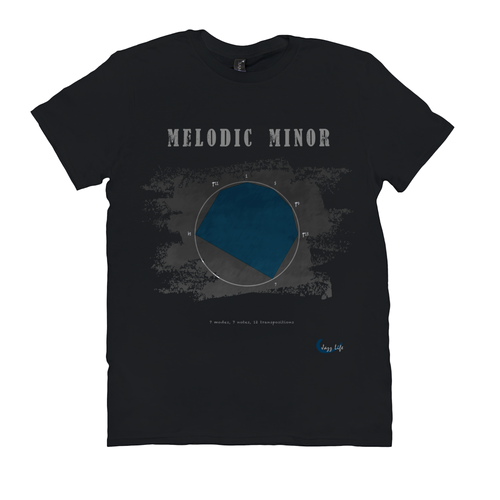 Cool Melodic Minor Scale T-ShirtT-Shirts