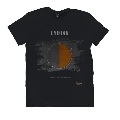 Cool Lydian Scale T-Shirt