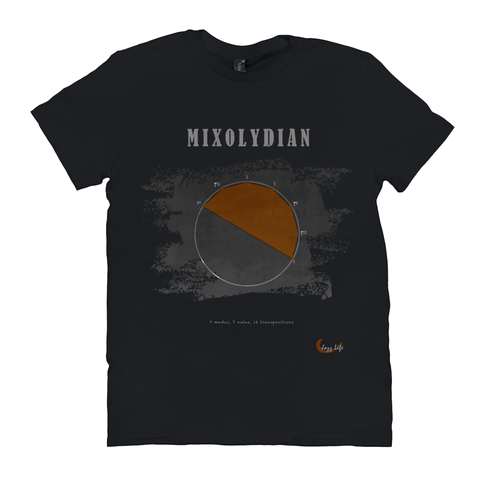 Cool Mixolydian Scale T-Shirt
