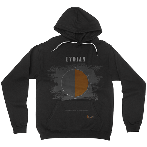 Cool Lydian Scale Hoodies (No-Zip/Pullover)